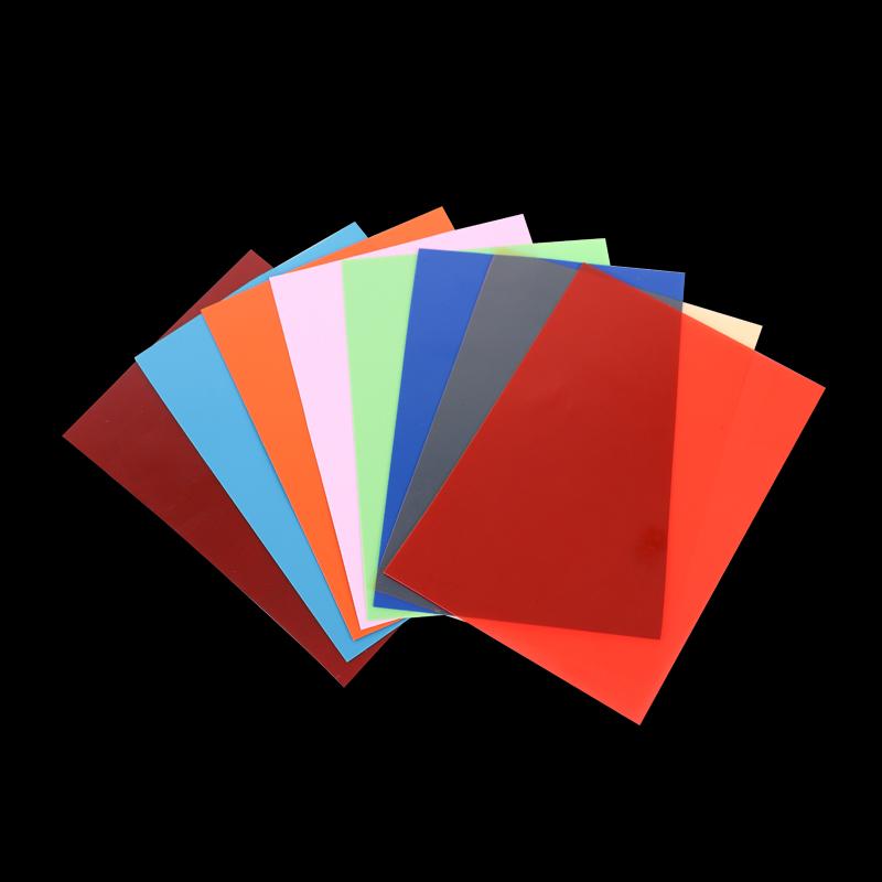 Customized Color Rigid PVC Plastic Sheet