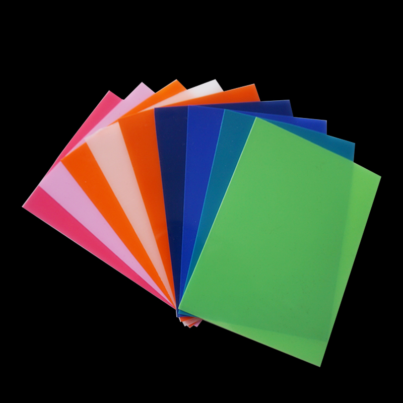 A4 Colorful PVC Sheet for Book Binding Covers