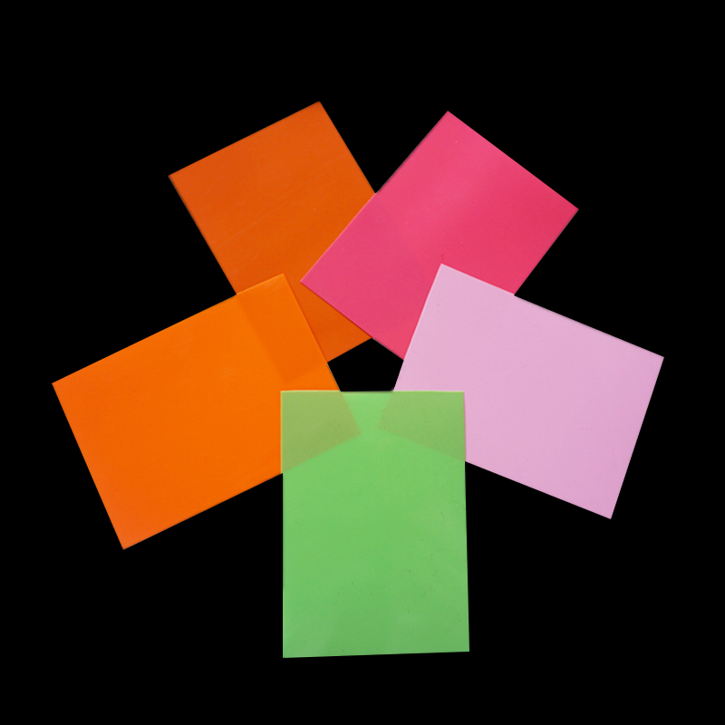 Colored PVC Sheet Plastic in Roll for Folding Boxes